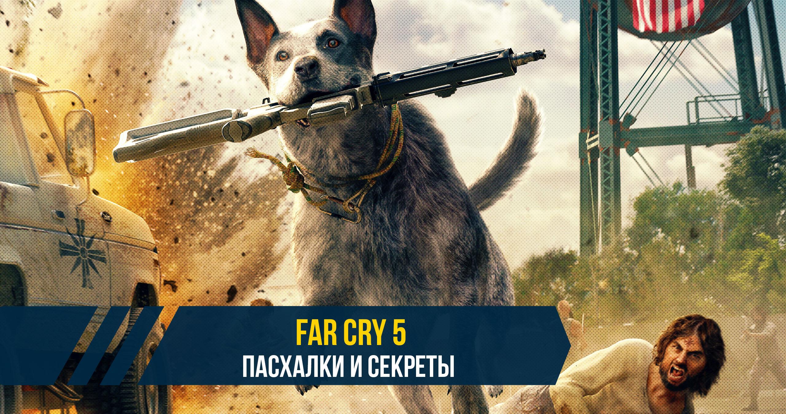 Пасхалки и секреты прохождения игры Far Cry 5