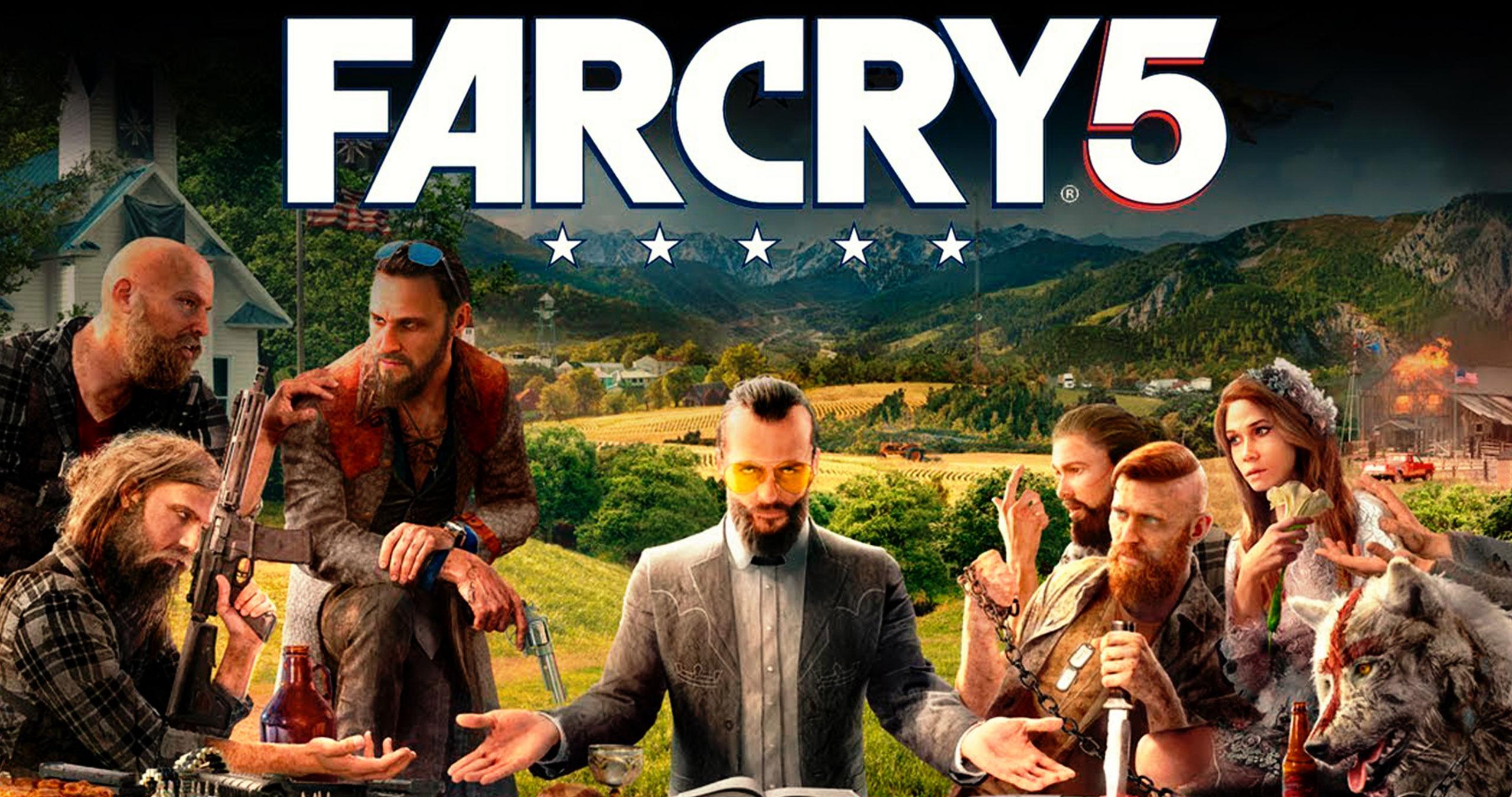 Необычные факты в игре Far Cry 5