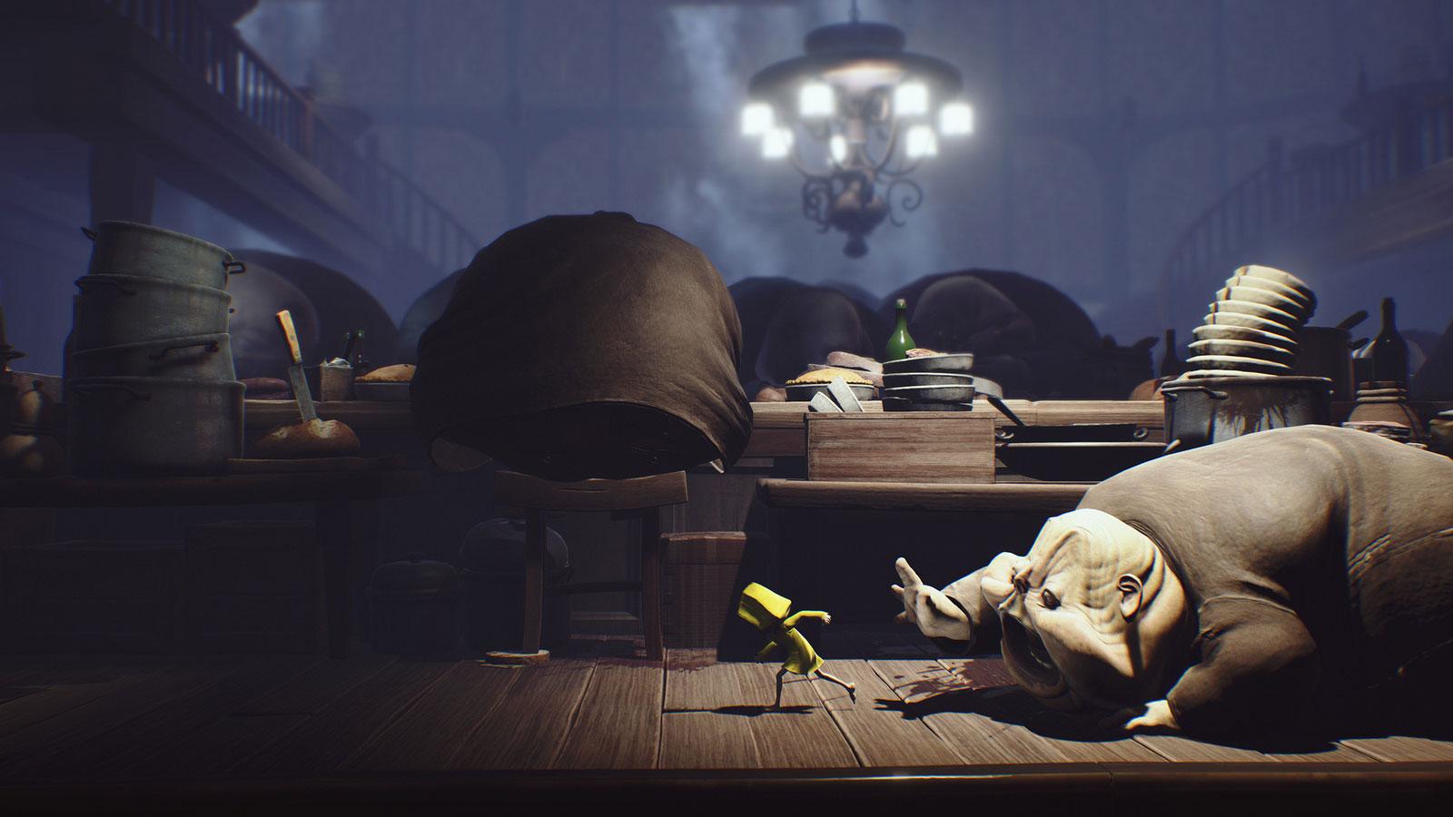 Персонажи игрыLittle Nightmares- очень неприятные сущности