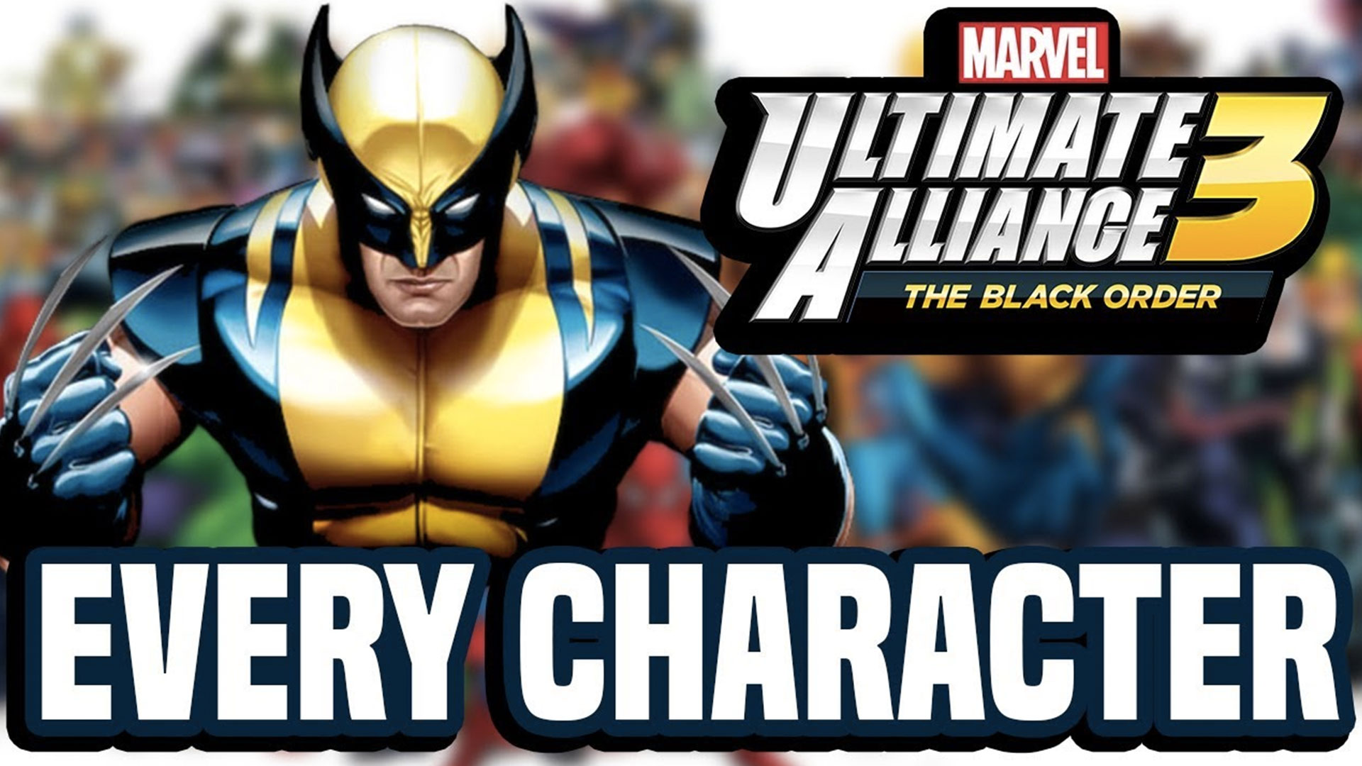 MARVEL ULTIMATE ALLIANCE 3: ЧЕРНЫЙ ОРДЕН
