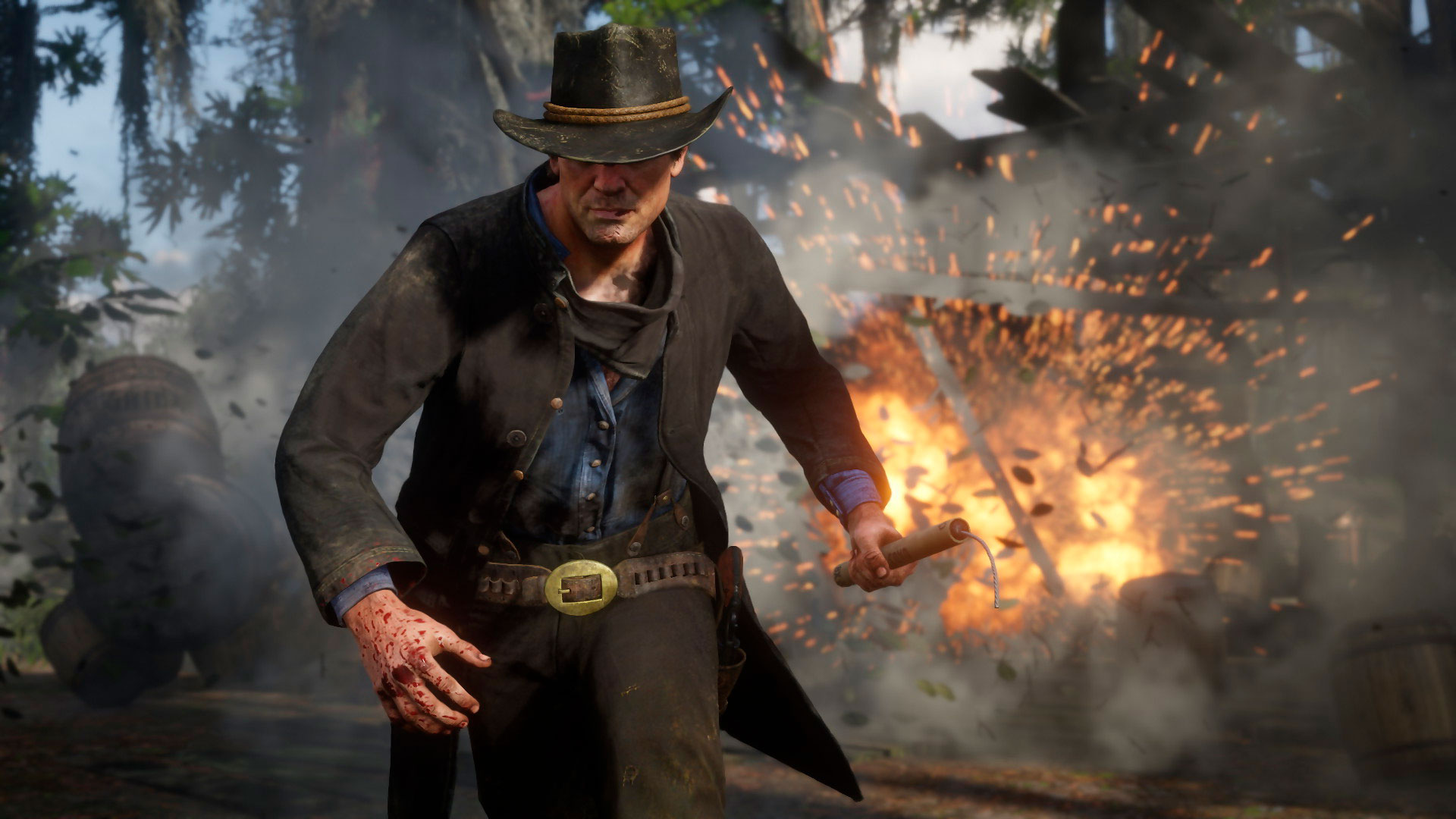 настройки Red Dead Redemption 2