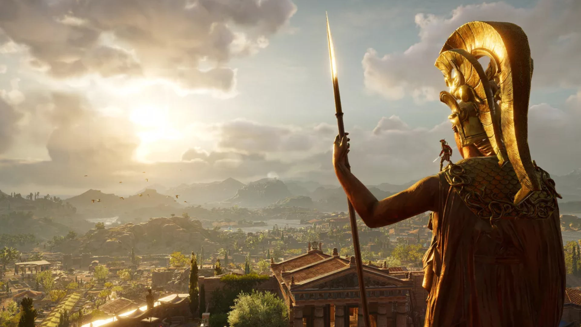 Assassin's Creed Odyssey full screen