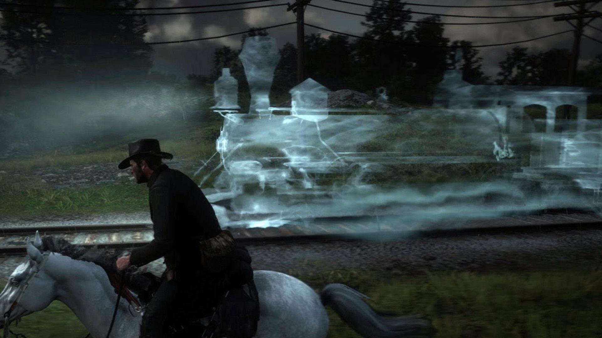 Встречайте призрачный поезд