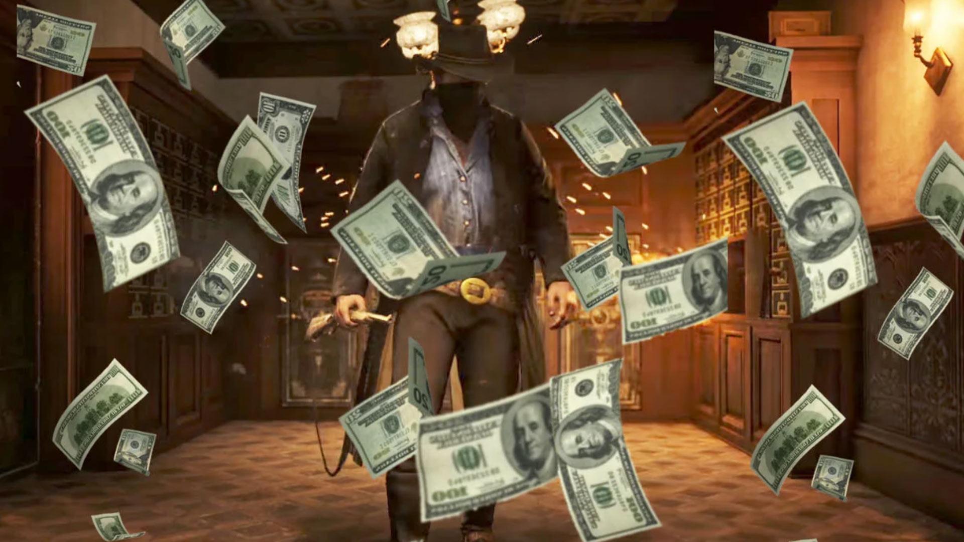 Деньги в Red Dead Redemption 2