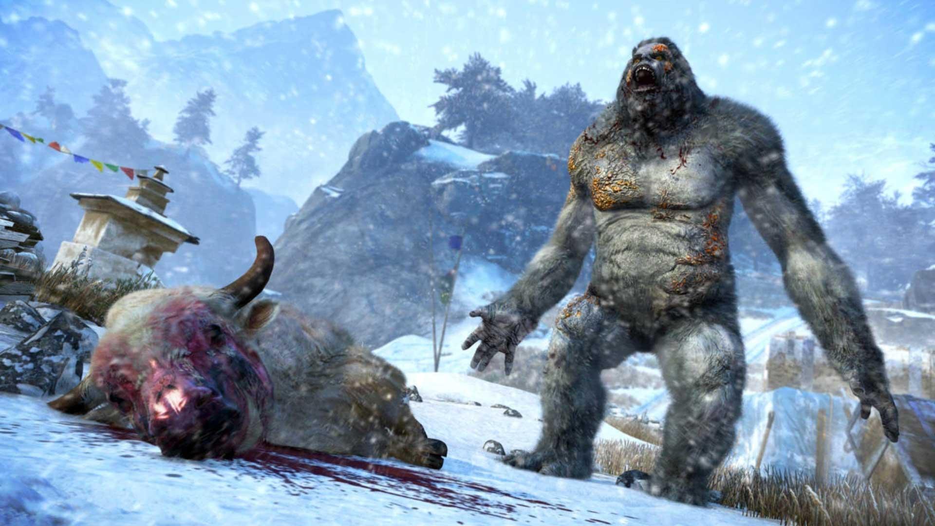 Far Cry New Dawn пасхалки | снежный человек