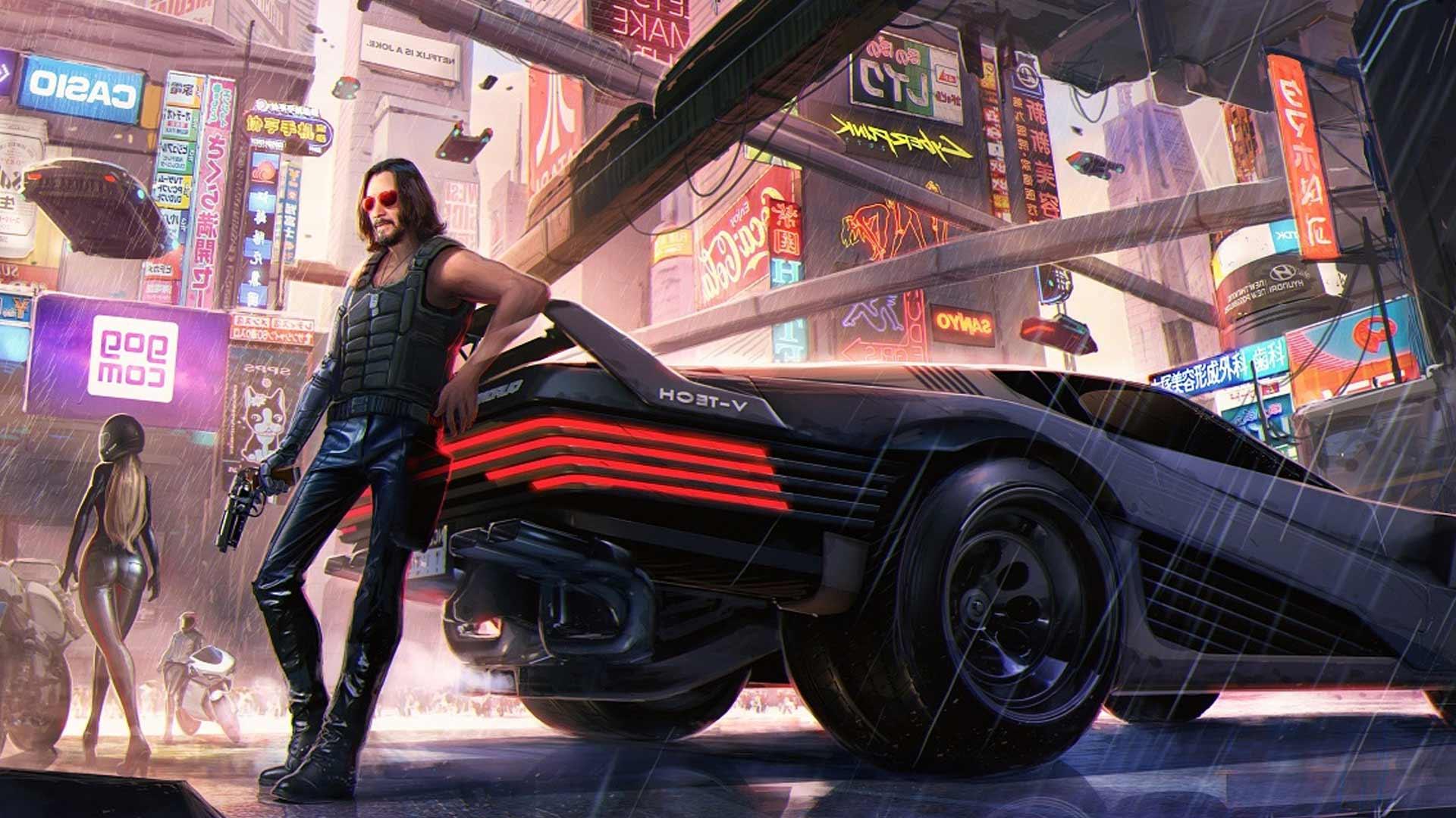 Кто такой персонаж Киану Рива Киберпанк 2077, Джонни Сильверхэнд?