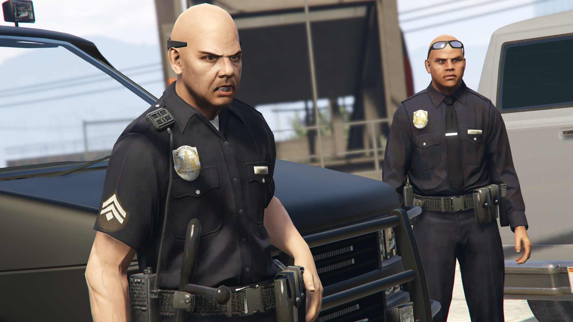 Играй в GTA за полицейских