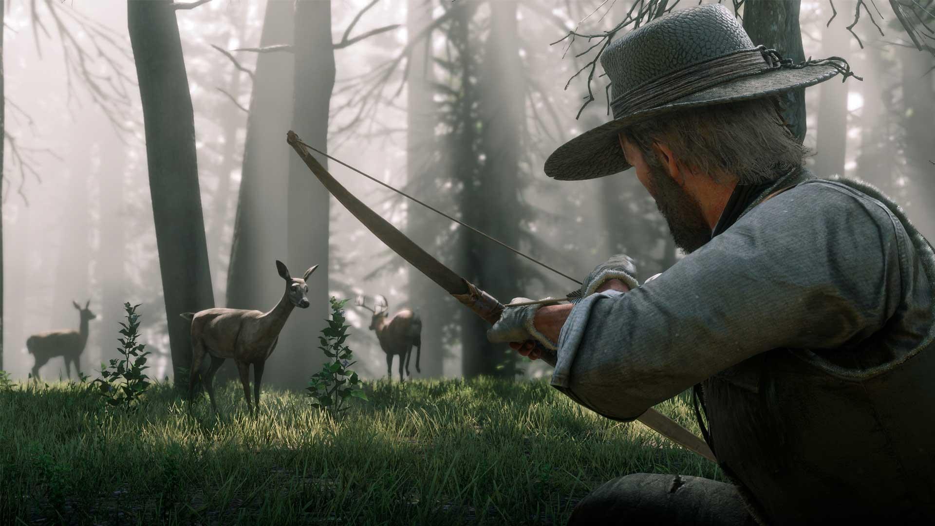 Охота в игре