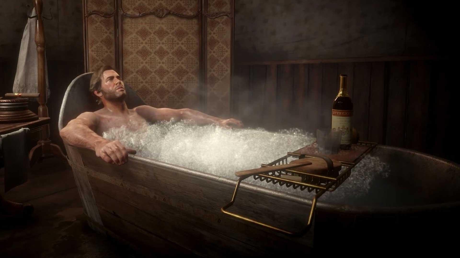 Принимайте ванну