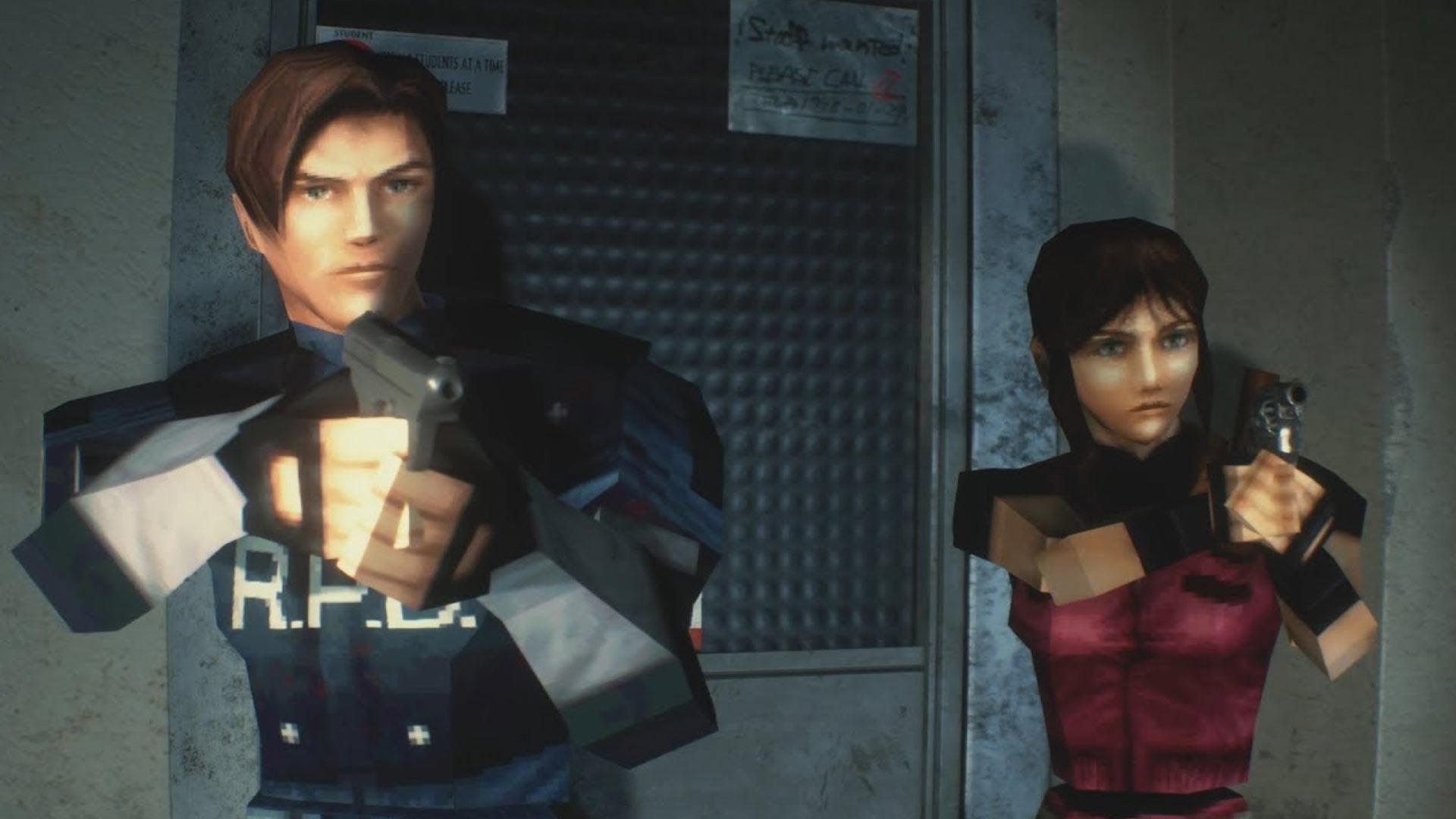 Resident Evil 2 4K, 60fps