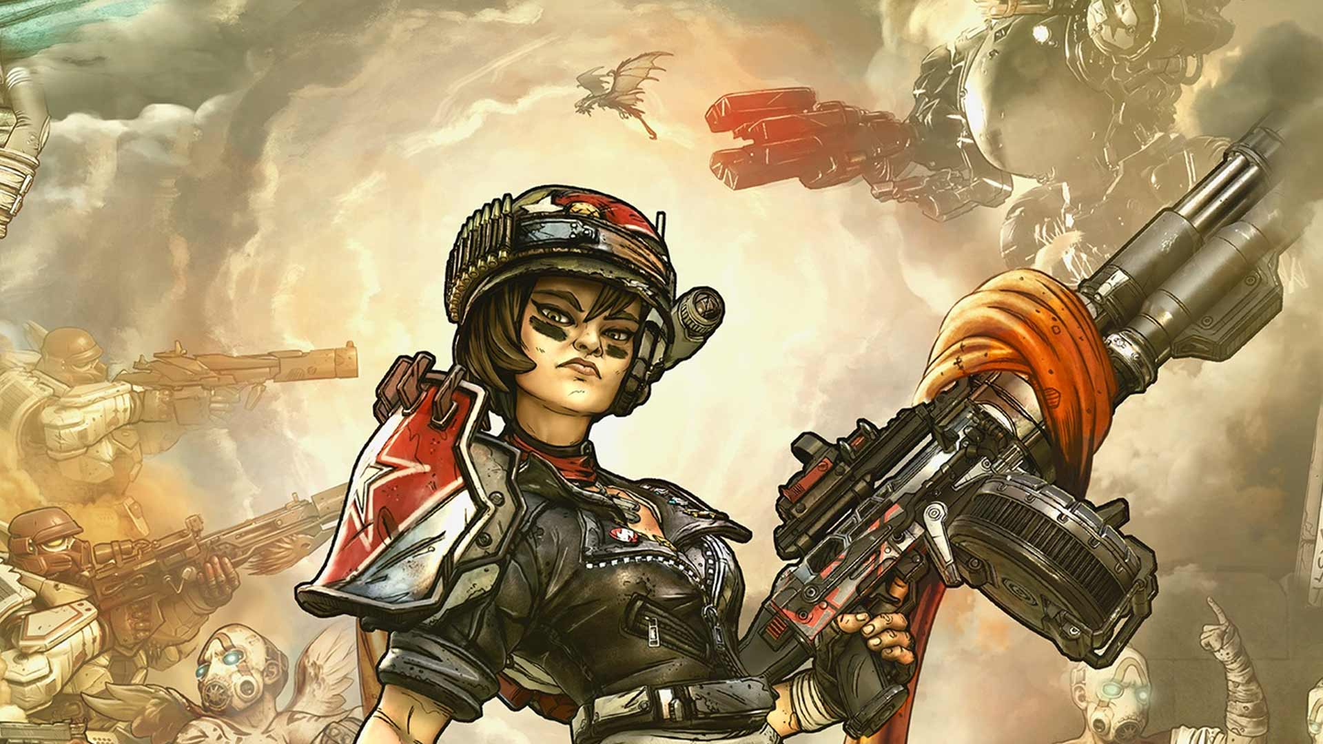 Разрушительница Моуз | первые подробности о героях Borderlands 3