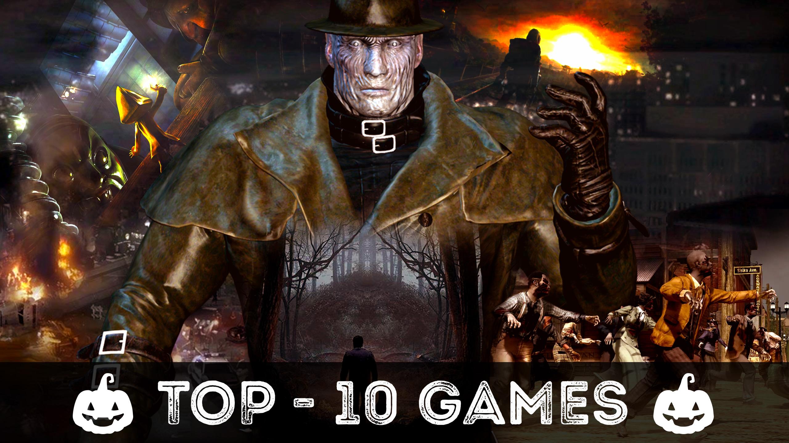Игры на Хэллоуин   топ-10 хоррор игр