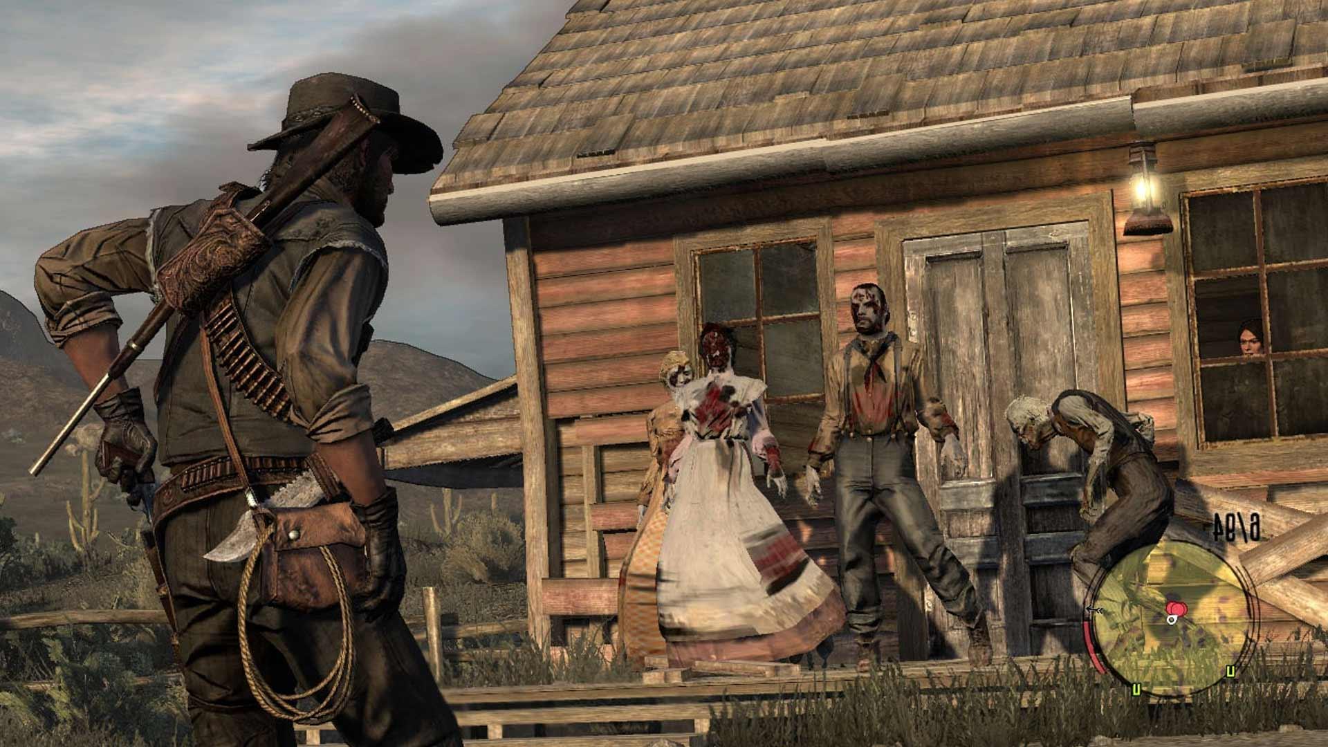 Red Dead Redemption:Кошмар живых мертвецов