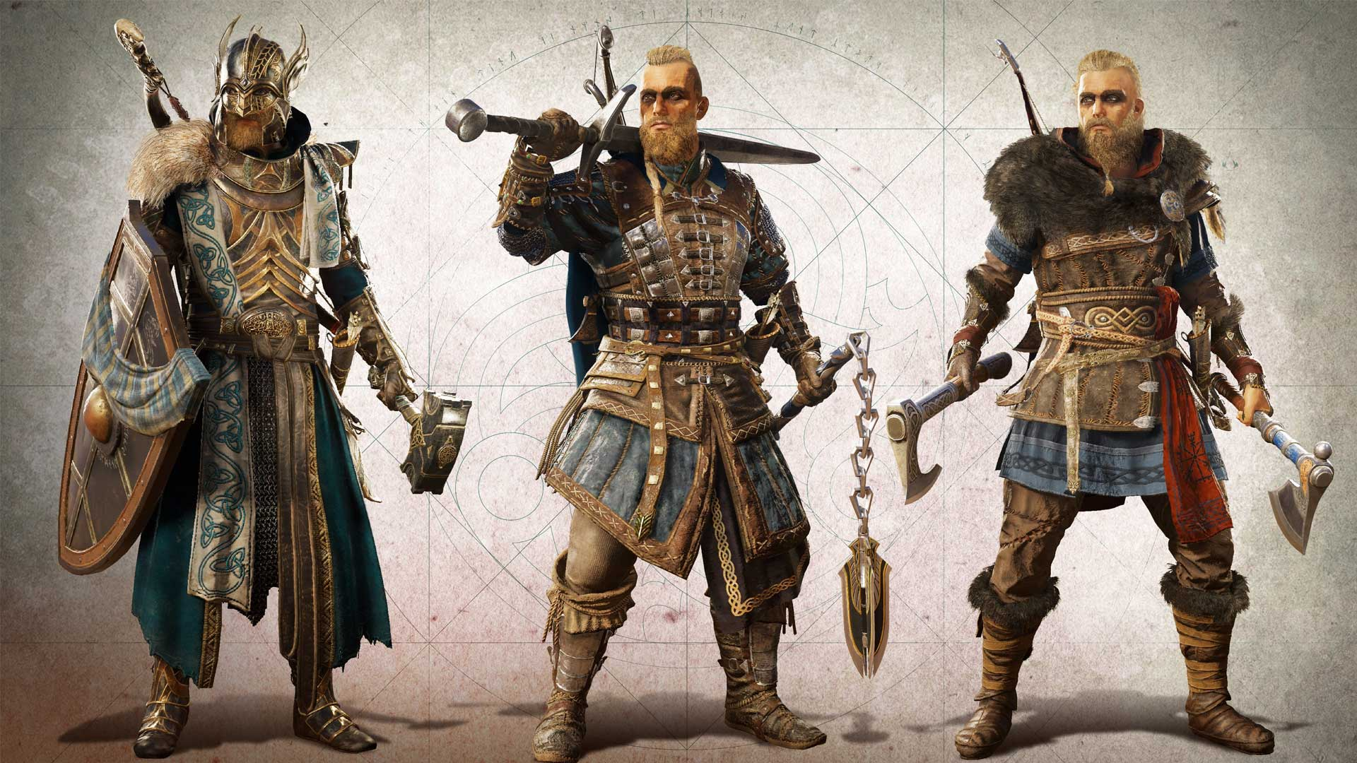 Ваш арсенал выходит за пределы мечей, топоров и щитов