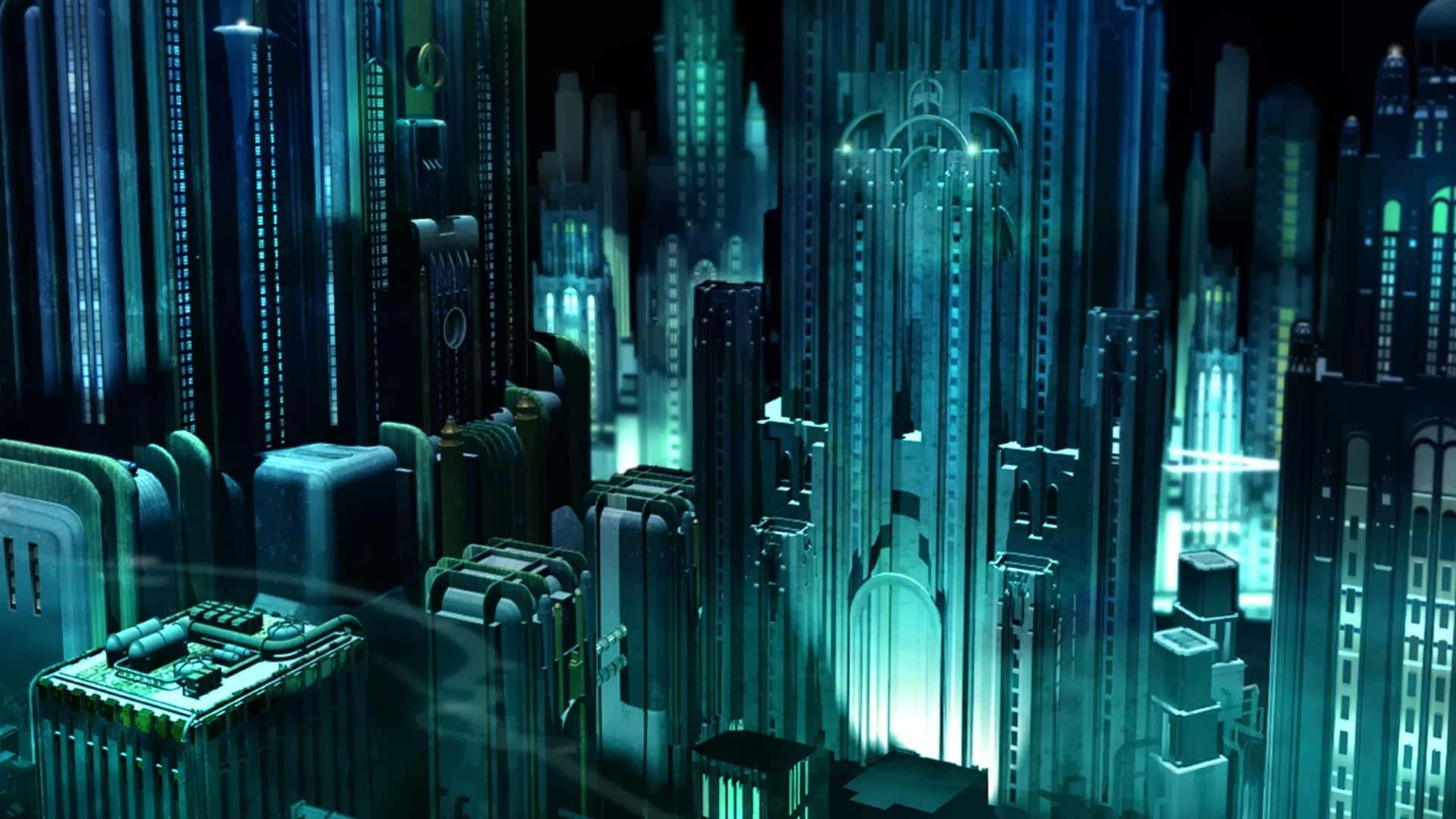 Зачем строить подводные небоскребы?Конечно, есть более реальный дизайн для подводного города?