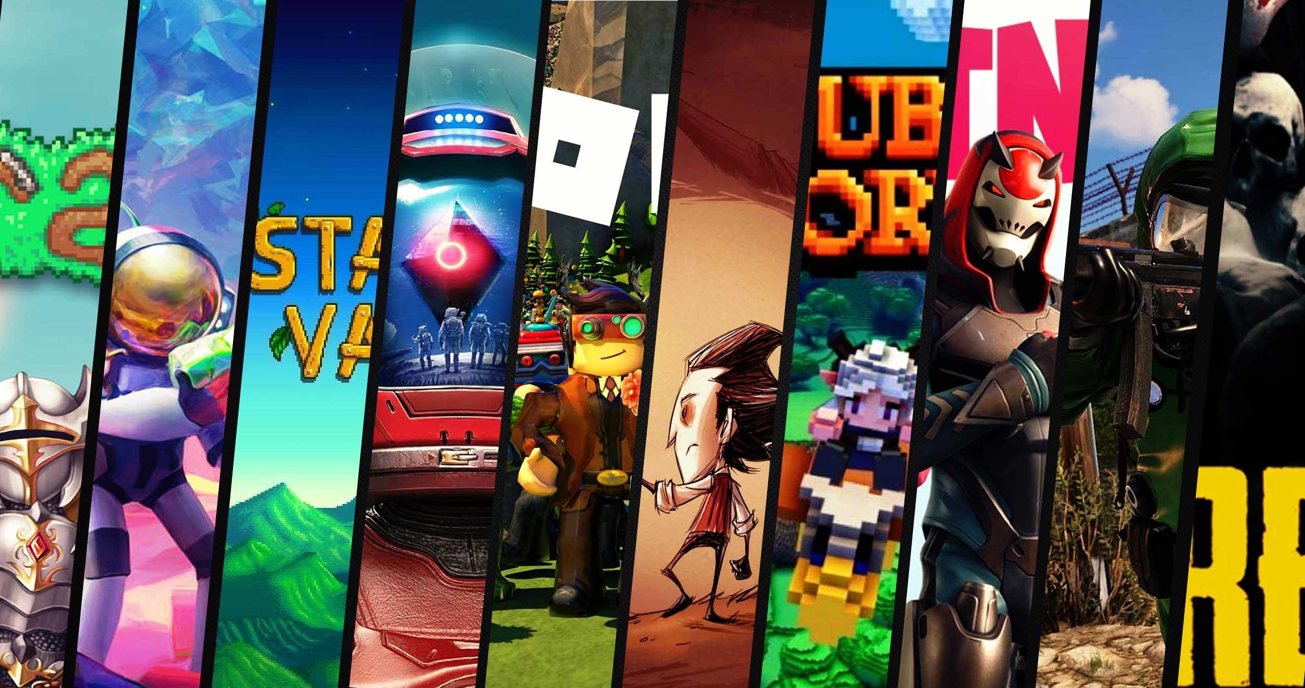 Top -10 Minecraft games