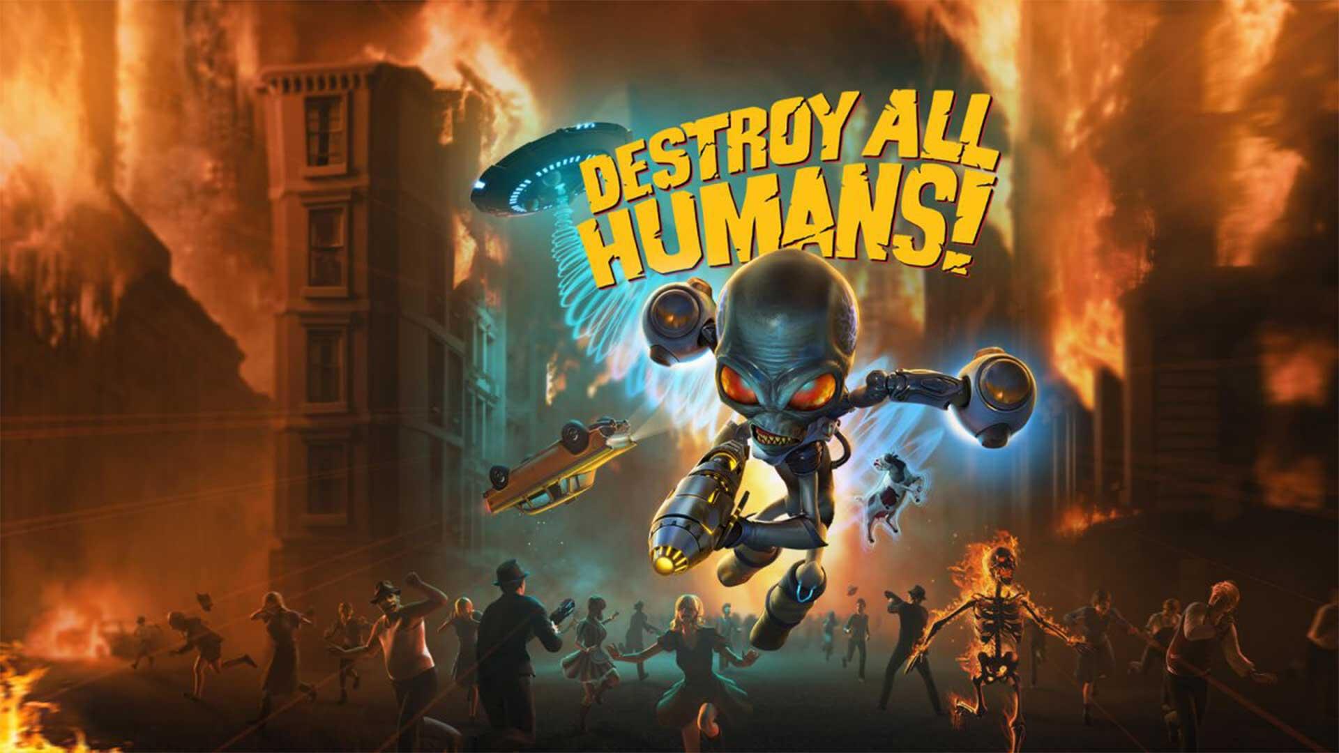 Руководство для новичков по игре Destroy all humans!
