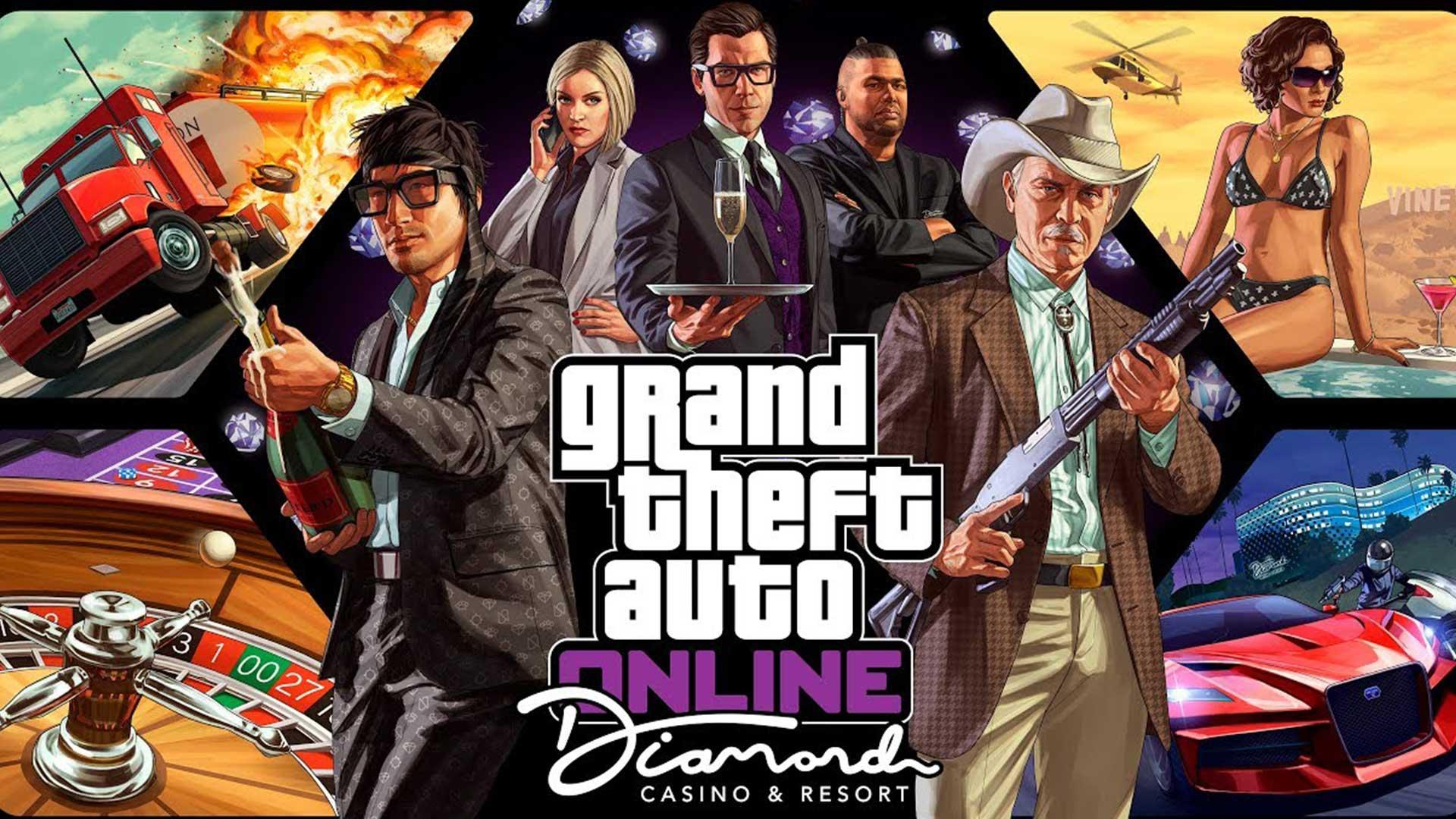 Grand Theft Auto Online и Grand Theft Auto V