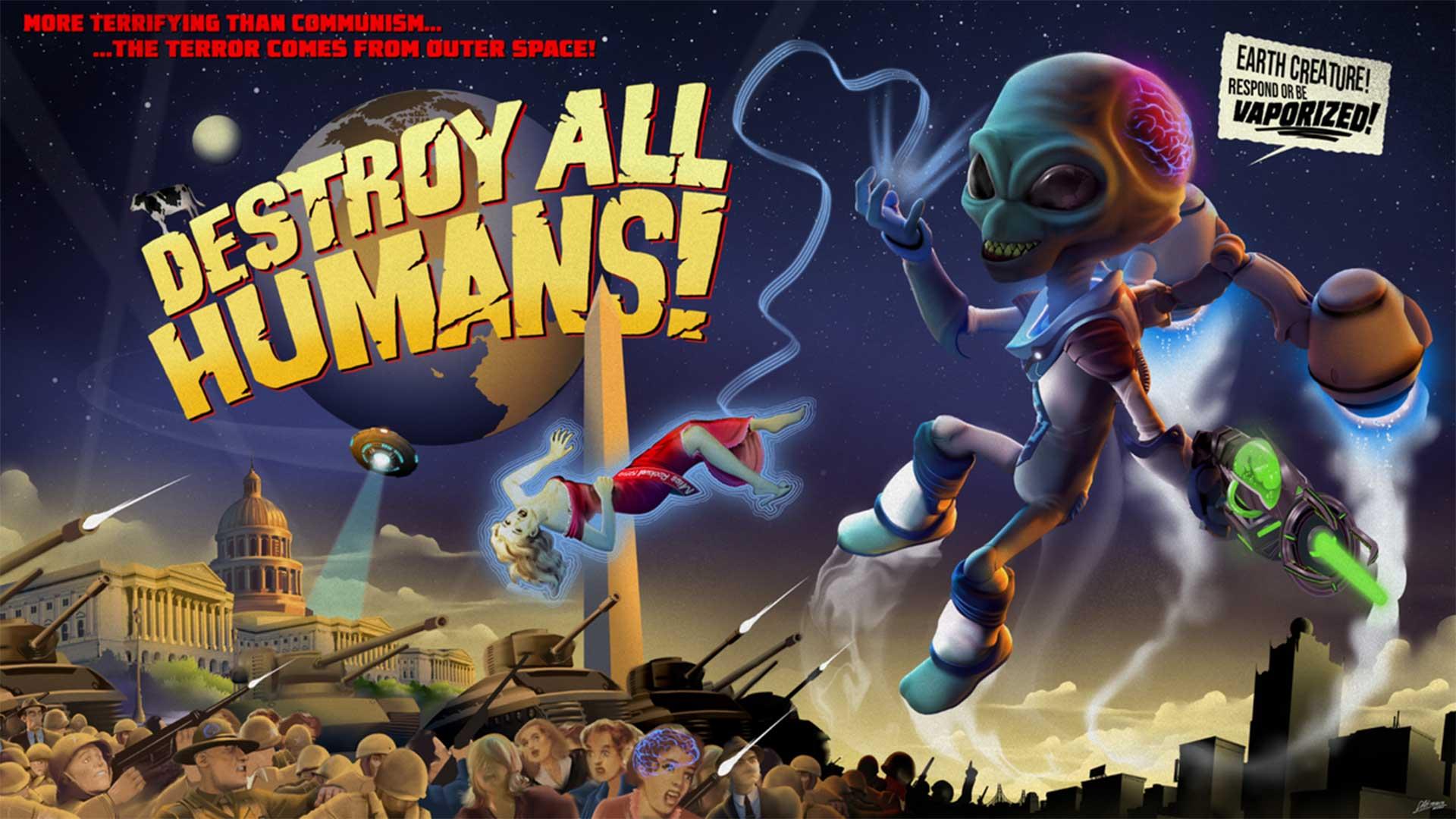 Destroy All Humans! Отсылки к игре Half-Life