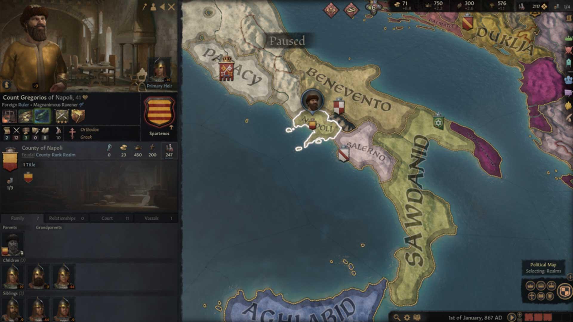 Грегориос Неаполитанский