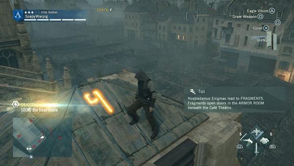 символ на крыше.