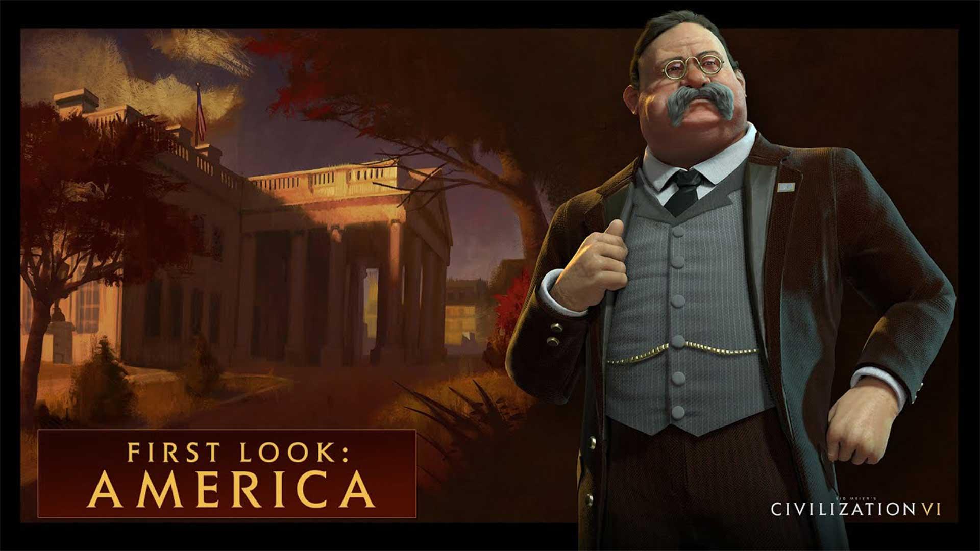 Теодор Рузвельт. Америка