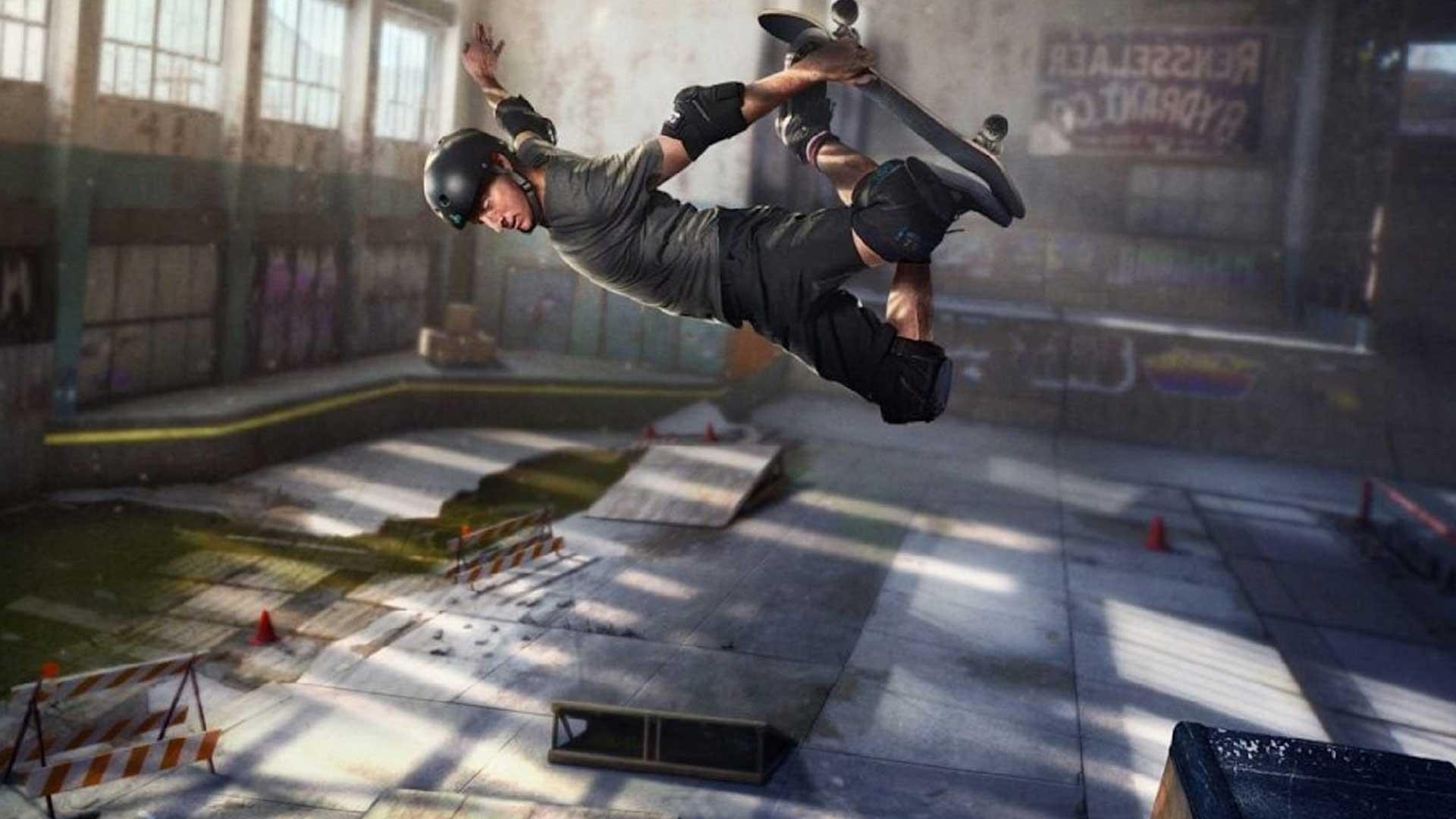 Tony Hawk's Pro Skate - Лучшая спортивная/гоночная игра