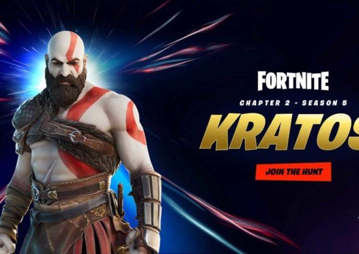Fortnite дразнит новым скином God of War
