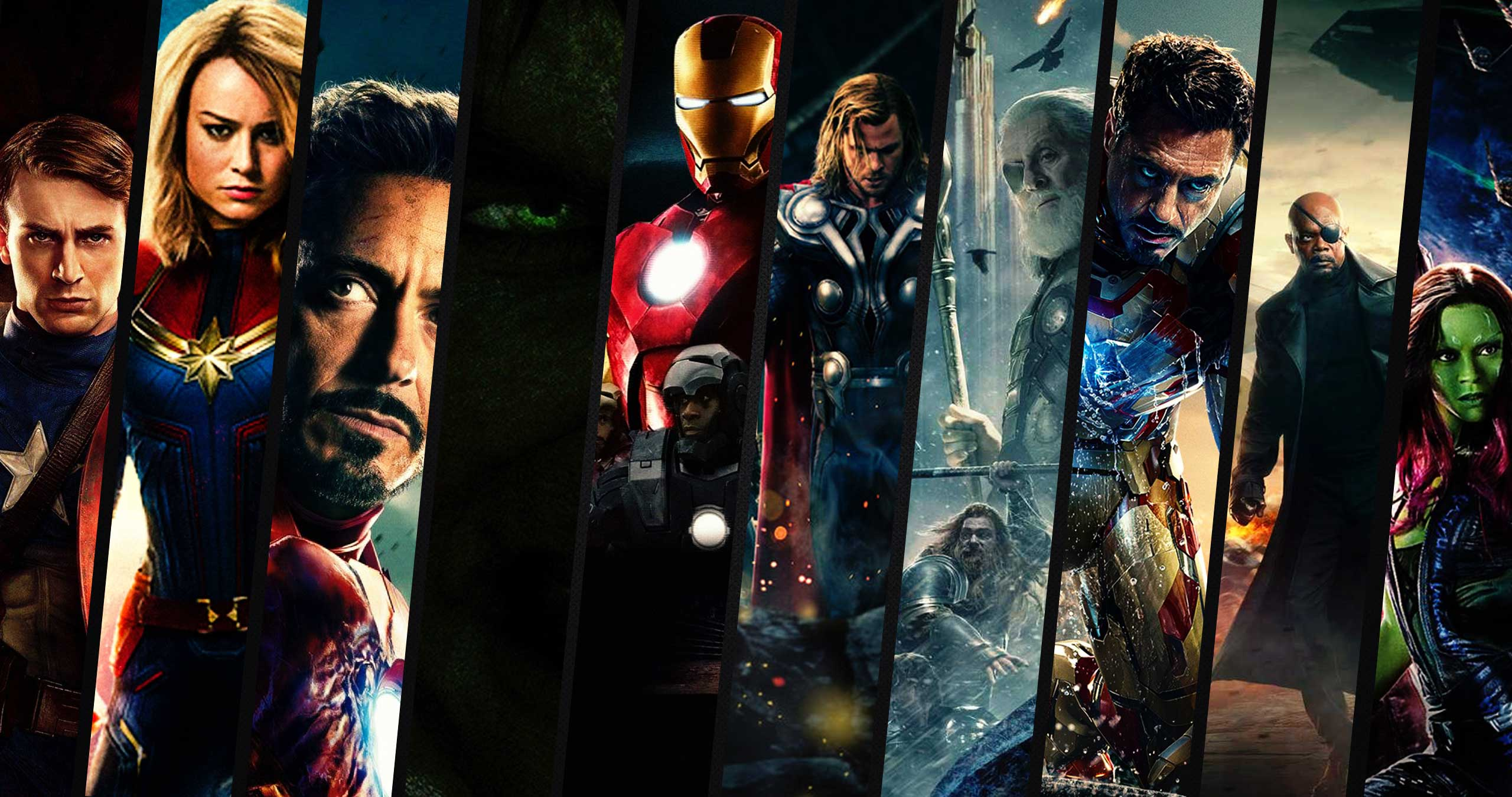 Правильный порядок фильмов Marvel