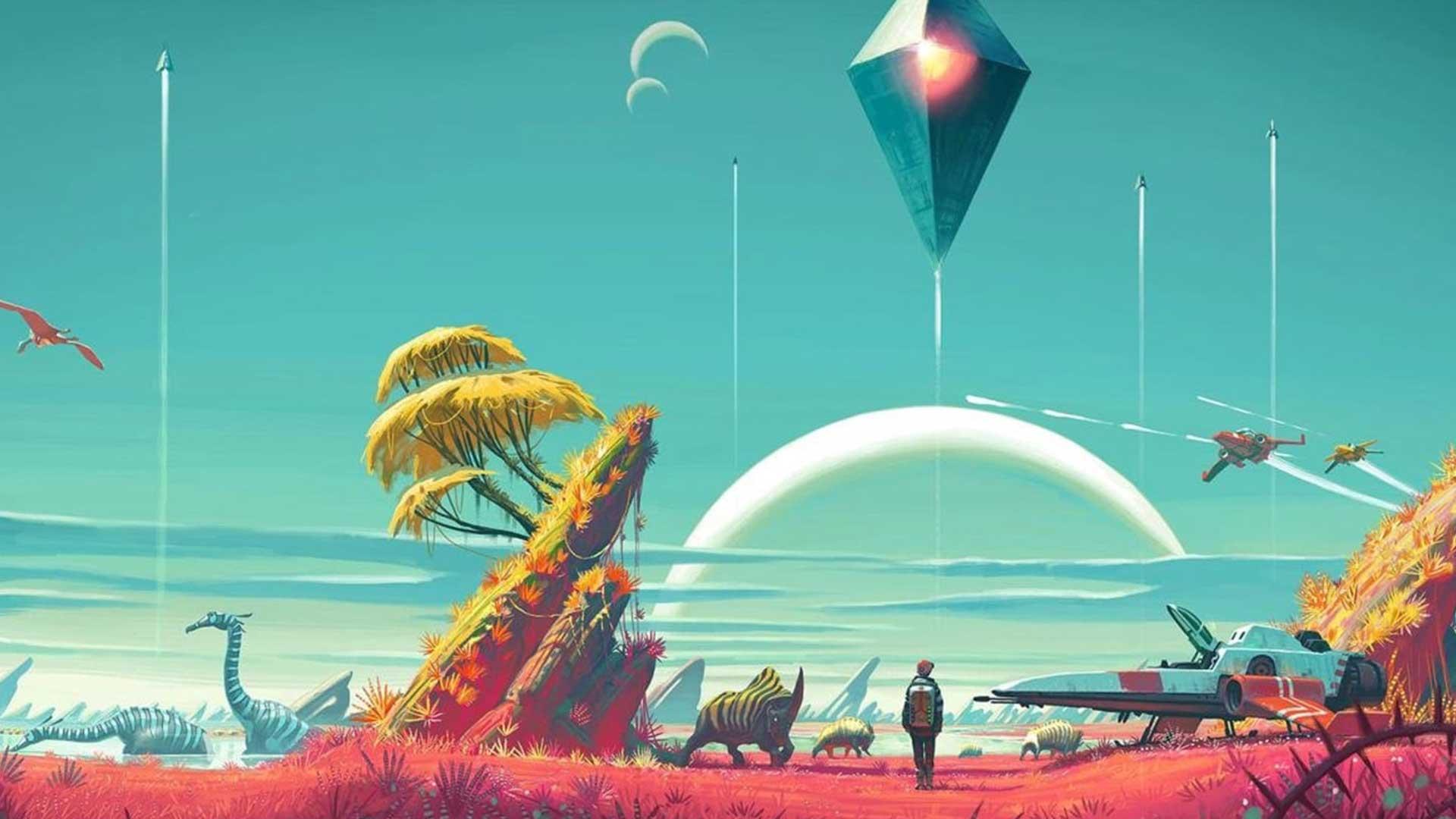 No Man's Sky - Лучшая поддерживаемая игра