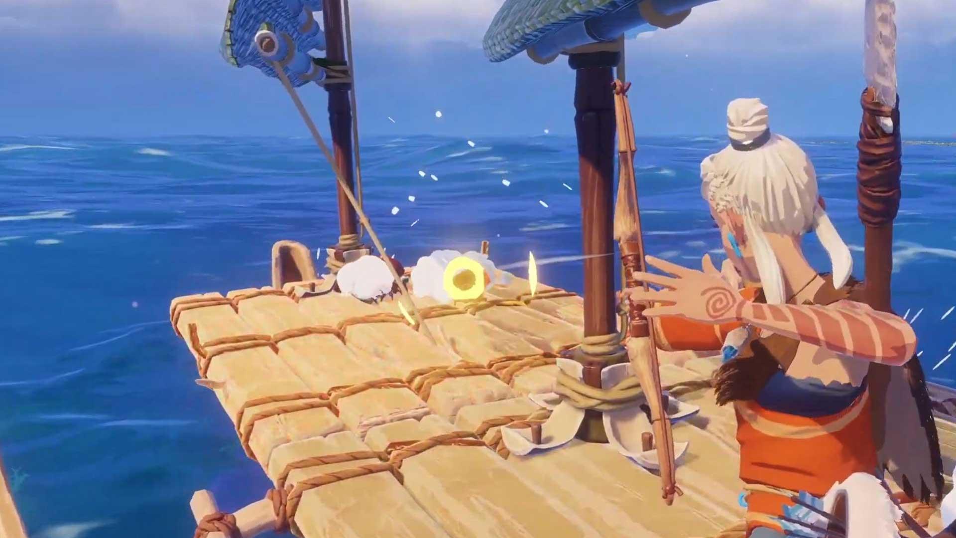 Ваша лодка это убежище от наземных животных