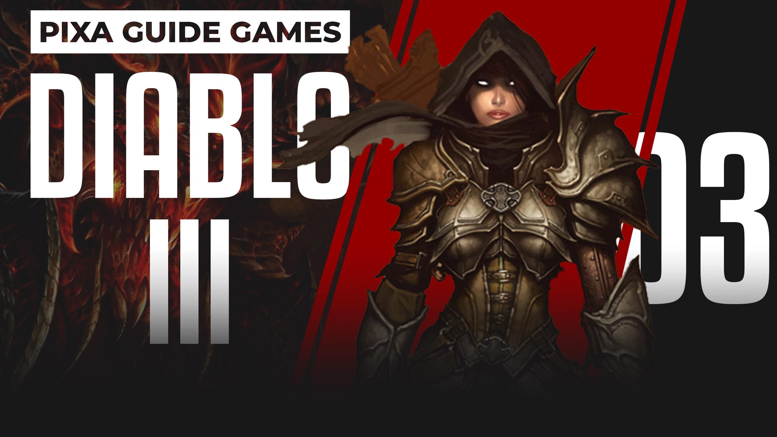 Diablo 3 | Прохождение игры | акт I | Найти кладбище проклятых | 03