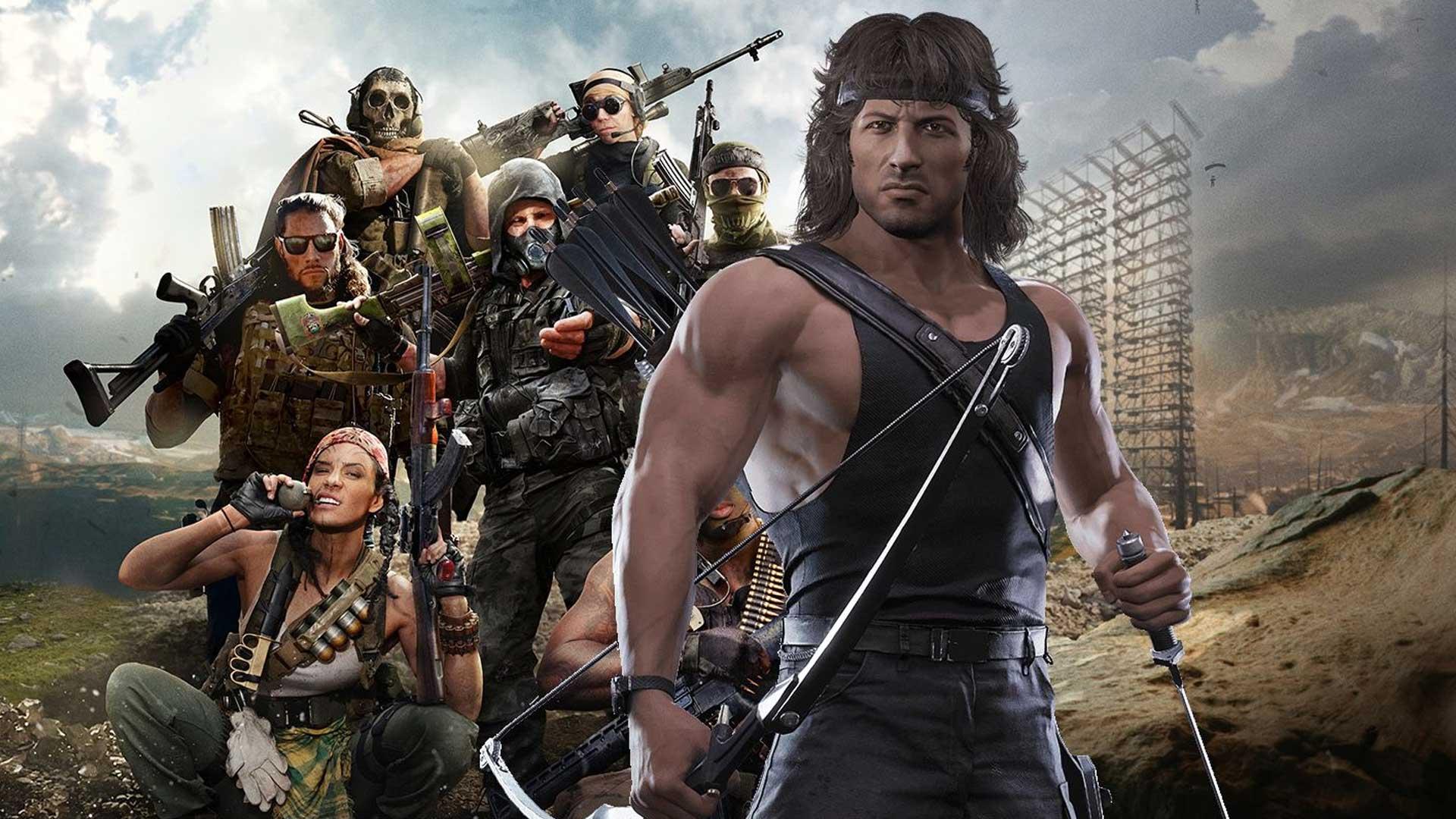 Call Of Duty Warzone. Рэмбо в строю, на следующей неделе