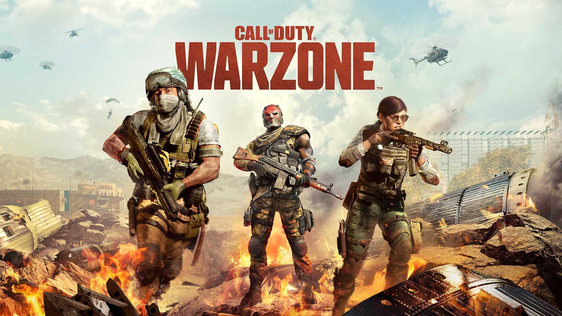 Call of Duty Warzone тизерит Vanguard