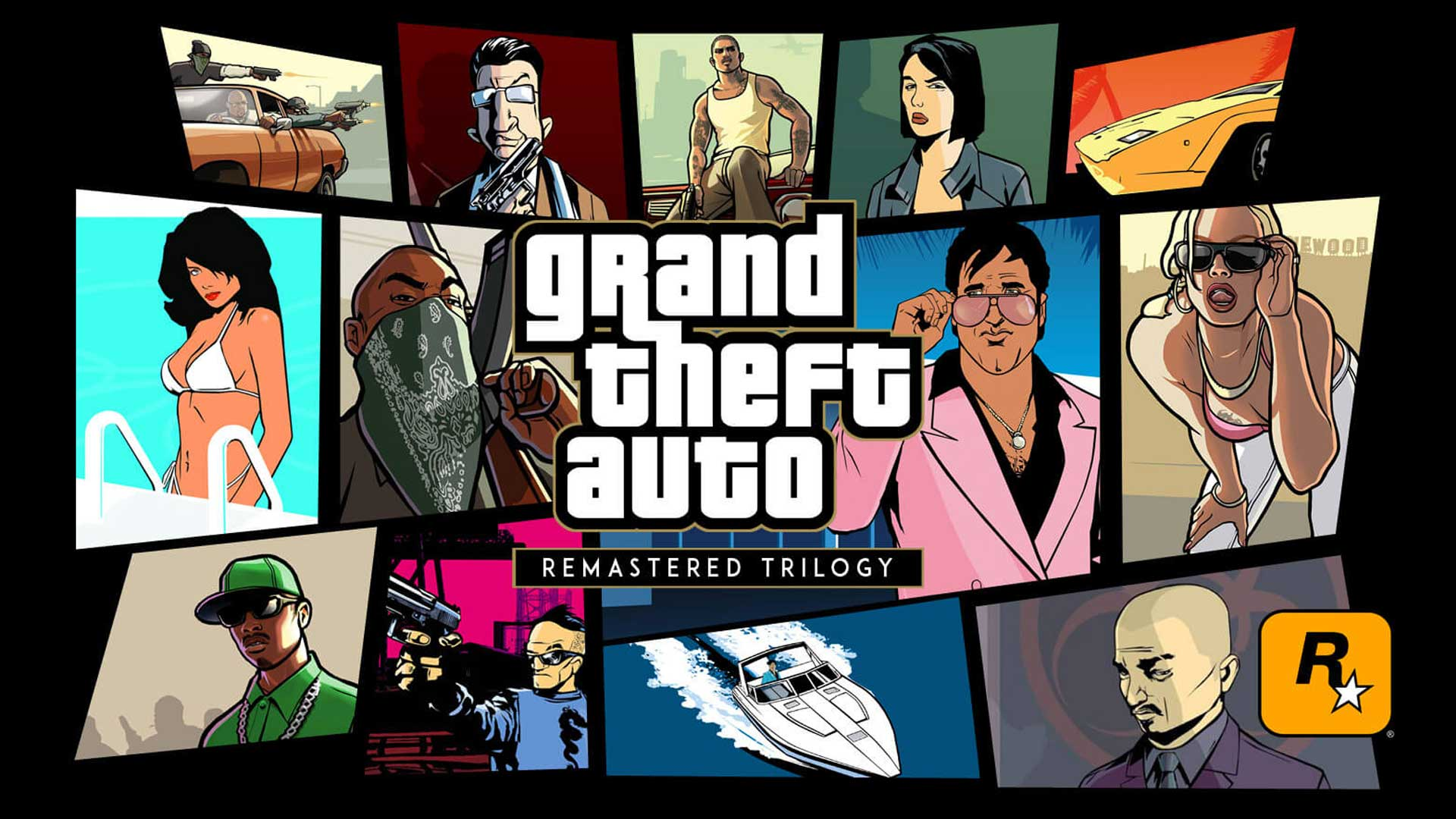 Rockstar анонсировало переиздание трилогии Grand Theft Auto